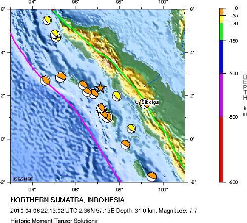 Historical Earthquakes
