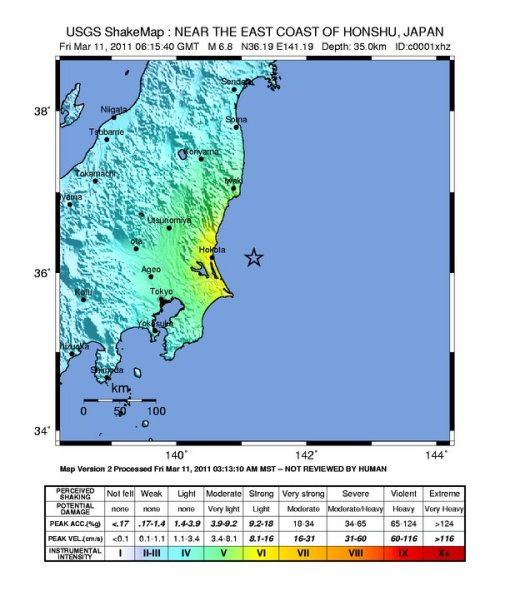 Gempa2, M6.8, intensity map, USGS