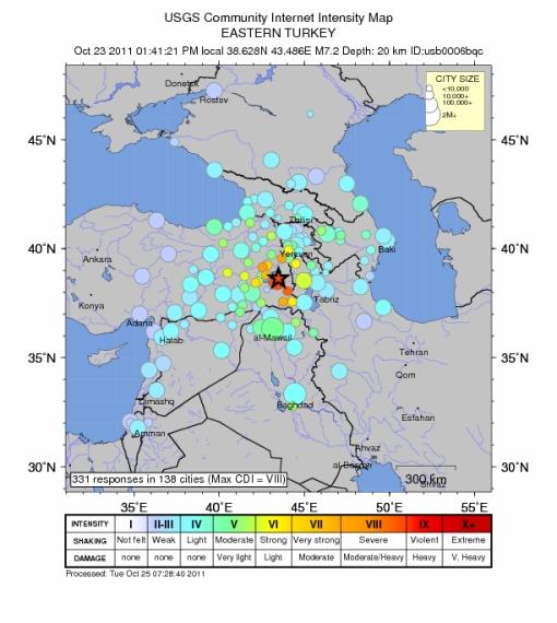 Intensity (http://earthquake.usgs.gov/earthquakes/dyfi/events/us/b0006bqc/us/index.html)